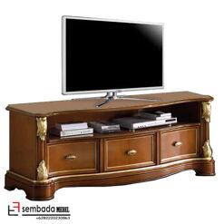 1 Set Bufet Tv Jati Kabinet Ukir Klasik SM-164