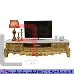 Bufet Tv Ukiran Mewah Klasik Gold SM-234