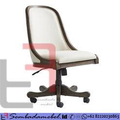 Kursi Kantor Jati Modern Klasik American Style SM-408