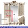 Lemari Pakaian Ukir Jepara Mewah 4 Pintu Cat Duco SM-537