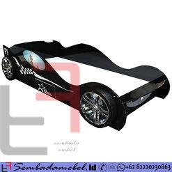 Tempat Tidur Anak Mobil Karakter F1 Turbo SM-566